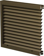 Airolite Introduces New Narrow Profile Louvers