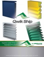 Airolite Offers New Qwik Ship Brochure