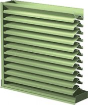 Airolite Louvers Achieve AMCA Listings for Impact and Rain Resistance
