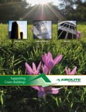 Airolite Brochure Features Products for Sustainable Design Buildings
